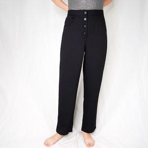 WILFRED Wide Leg Trouser Black Pants 0266